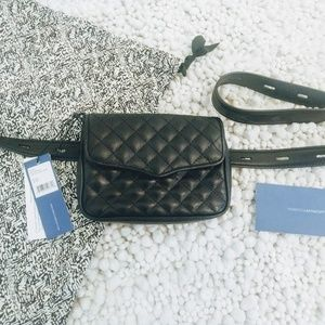 Rebecca Minkoff Bags - REBECCA MINKOFF affair quilted leather fanny pack